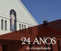Santuário comemora seus 24 anos