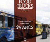 Food's trucks no aniversário do Santuário