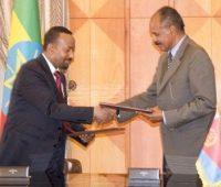 Etiópia e Eritreia assinam acordo de paz e amizade