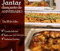 Santuário promove Jantar Dançante em comemoração aos 24 anos de evangelização