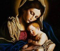 Entrega-te a maternidade de Maria Santíssima