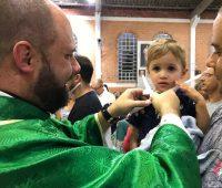 Retorno do Grupo de Oração tem bênção da garganta e traz metas para 2019