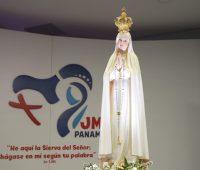 Oração do Papa confiando a juventude do mundo ao Imaculado Coração de Maria