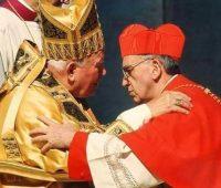 O encontro de São João Paulo II e Papa Francisco há 18 anos