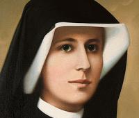 Ato de oferecimento de Santa Faustina pelas almas