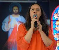 Primeira palestra na Festa Nacional da Misericórdia 2019