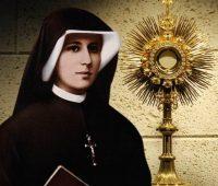 Santa Faustina e a Eucaristia