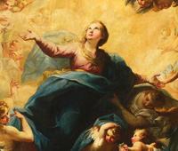 O Céu exulta na presença de Maria