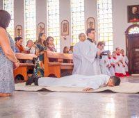 Seminarista da Congregação professa Votos Perpétuos