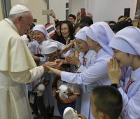 O segredo de um coração feliz é estar ancorado em Jesus, diz Papa