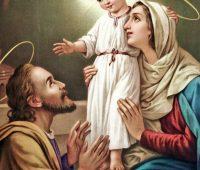 O amor de Maria e José pelo Menino Jesus