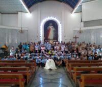 110 peregrinos participaram da 4°Caminhada da Misericórdia