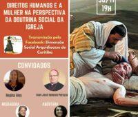 Live discute Direitos Humanos e a Mulher na Perspectiva da Doutrina Social da Igreja