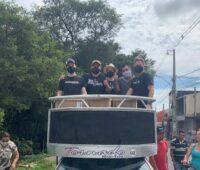 Movimento SOS Vila Torres entrega 3 mil máscaras de proteção no bairro Caximba