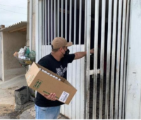 Movimento SOS Vila Torres já distribuiu mais de 15 mil cestas básicas