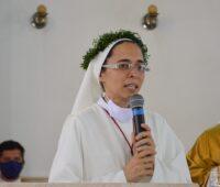 Celebração dos Votos Perpétuos da Irmã Guadalupe