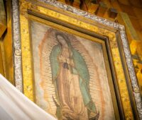 Terço no Santuário de Nossa Senhora de Guadalupe, hoje às 13h