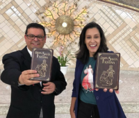 Veja como foi o lançamento do Diário de bolso na Comunidade Canção Nova